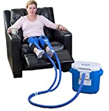 Polar Products Active Ice 3.0 Knee & Joint Cold Therapy System w Digital Timer Includes Knee Bladders 15 Quart Cooler