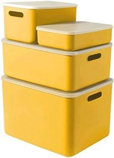 Dabeigouzzhiwl casier Rangement, Boîte de Rangement, boîtes de Rangement décoratif pour étagères, boîte de paniers de plac...