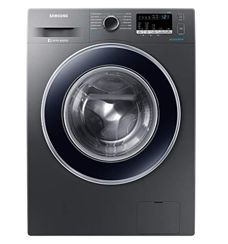 Samsung 8 Kg Inverter 5 star Fully-Automatic Front Loading Washing Machine (WW80J42G0BX/TL, Inox, Hygiene steam)