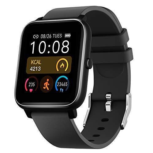 SmartWatch,Reloj Inteligente con Pantalla táctil de 1.4