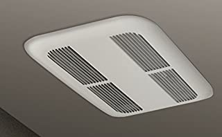 Stelpro SK0501 Air Curtain Ceiling Fan Heater - 500W, 120V, White