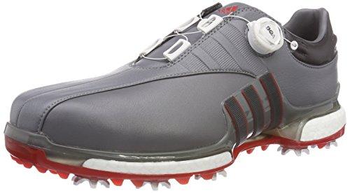 adidas Herren Tour 360 BOA 2.0 Golfschuhe, Grau (Gris F3373130), 42 EU