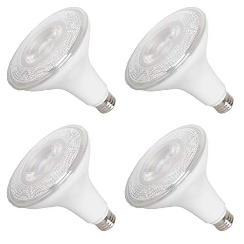 Maxxima PAR38 LED Indoor/Outdoor Warm White Light Bulb 1275 Lumens 15 Watts 100 Watt Equivalent 3000K 90 CRI Dimmable Energy Star Flood Light (4 Pack)