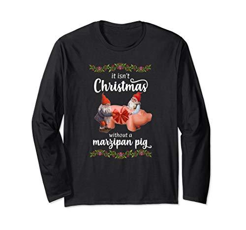 Eventyr Original Norwegian Christmas Marzipan Pig Holiday Long Sleeve T-Shirt
