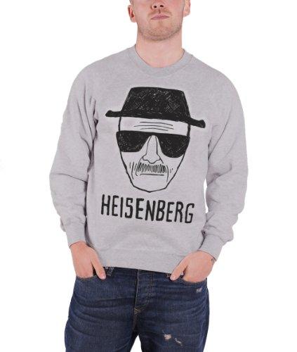 CID - BREAKING BAD - HEISENBERG Crewneck Sweatshirt Pullover Größe XXL