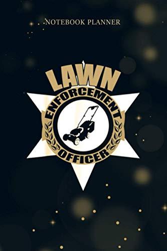 Notebook Planner Lawn Enforcement Officer Gardening Lawn Mower Gift: Tax,...