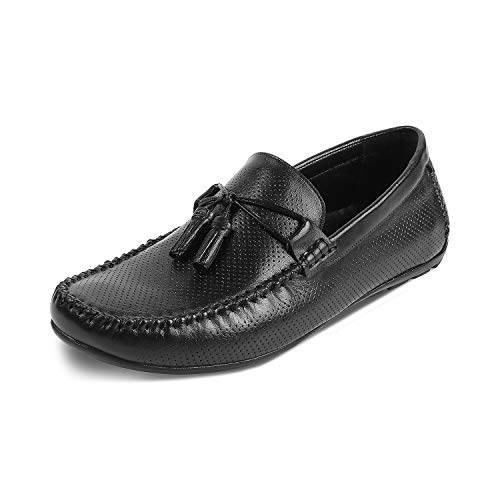 Tresmode Men's Casual Leather Loafers