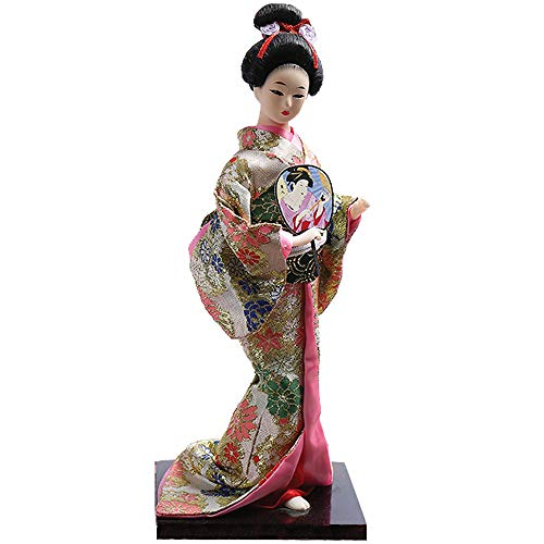 Asiatischer Drache Japanische Geisha Lady Puppe