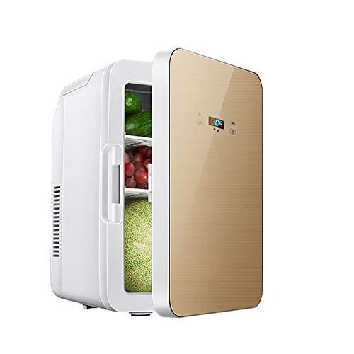 LXLTLB Refrigerador Compacto, 22L Mini Refrigerador Nevera Eléctrica Fría Y Cálida,Tanto En...