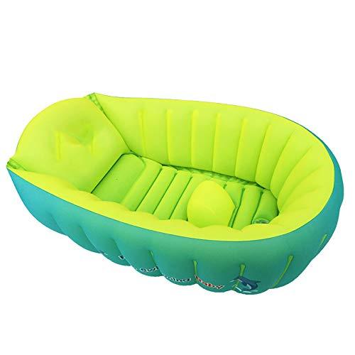 Bañera inflable para bebé bañera de bebé bañera plegable y portátil bañera para niños