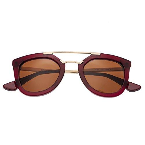 Bertha Damen Sonnenbrille, BRSBR010R, Rot, BRSBR010R