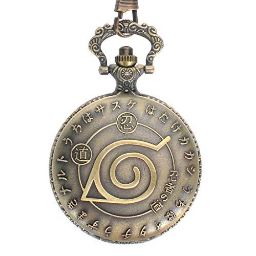 CoolChange Naruto Taschenuhr mit Konohagakure Symbol