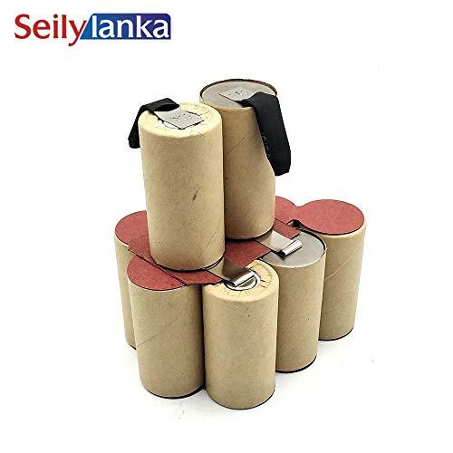 Seilylanka 3000mAh para herramientas Alpha 12V Batería Ni MH CD Pro Work AccuPack 12 Accu Pack para autoinstalación