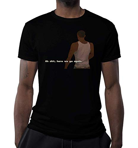 Oh, Here We Go Again Game Character Artwork Camiseta para Hombre