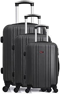 Hero Stromboli Luggage Set, 76 cm, 189 liters, Black (Noir)