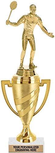 Crown Awards Badminton Trophy 13