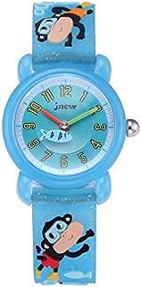Children'S Cartoon Monkey Watch Waterproof Quartz Watch Silicone Watch Girls Boys Children'S Watch 3D Silicone Strap