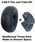 3.00-4 Tire & Inner Tube Combo For Razor Pocket Rocket Razor E300 & E325 eZip 4