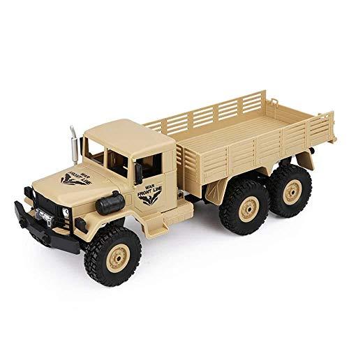 ADLIN Juguetes al aire libre for la Educación, Rc Camión militar 1:18 Escala de control remoto Ejército Off-Road 4Wd coche 2.4Ghz vehículo sobre orugas RTR adultos de juguete de regalo de Kidschildren