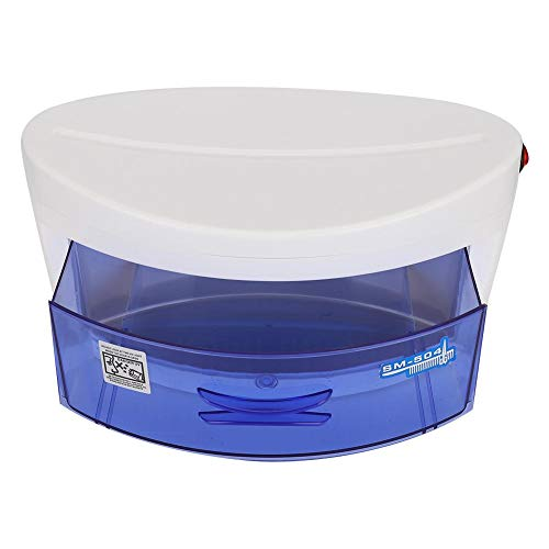 Brrnoo Esterilizador de ozono UV Inicio Esterilizador de uñas Arte Caja Esterilizador de ozono UV Gabinete Máquina de esterilización(01)