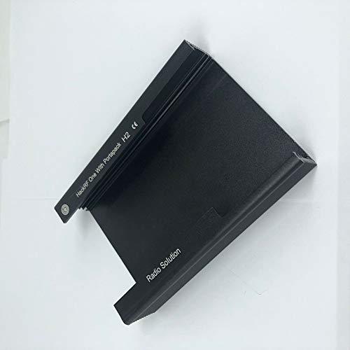Alician Metallgehäuse für Portapack H2/HACKRF ONE SDR Radio, Haushaltswerkzeug, Schwarz