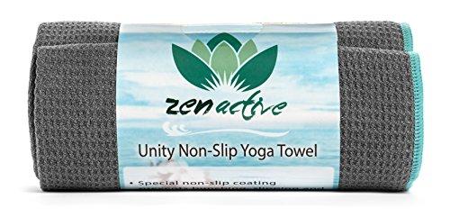 Zen activo no âslip toalla de Yoga–respetuoso con el medio ambiente,...