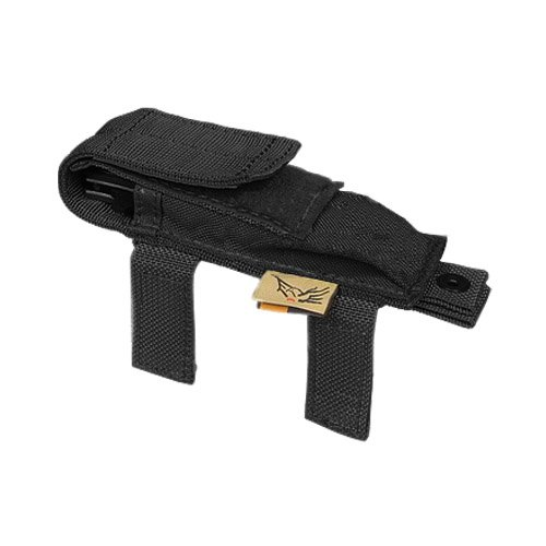 Flyye Tasche für Taschenmesser, Molle-Tasche, Airsoft Cordura, Nylon, Schwarz