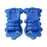 Pantofole estive per bambini con design cartoon 3D, leggere, morbide e leggere, da spiaggia Blu 26.5