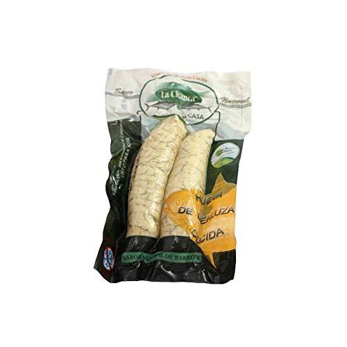 Hueva de Merluza Cocida - Envase 400 gr - Conservas La Chanca (Pack de 1)