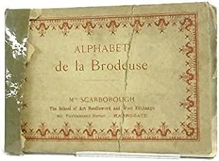 Alphabet de la Brodeuse
