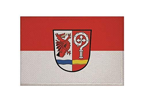 U24 Aufnäher Arrach Fahne Flagge Aufbügler Patch 9 x 6 cm