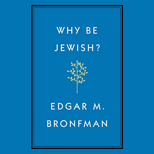 Why Be Jewish? audiobook cover art