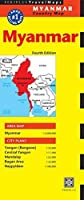 Myanmar Travel Map Fourth Edition: (Burma Travel Map) (Periplus Travel Maps) by Unknown(2014-09-09)
