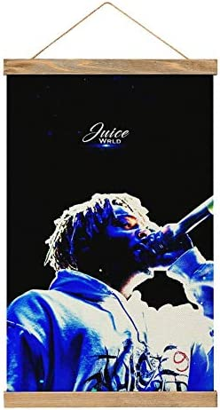 Hip hop Rapper Ju i ce Wr ld33 Canvas Hanging Scroll Paintings Canvas Poster Hanging Poster product image
