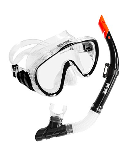 PI-PE - Set da snorkeling Pure Black