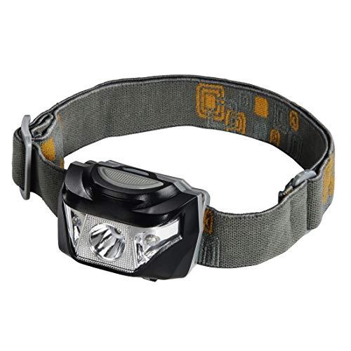 Hama LED-Stirnlampe (5-stufig schaltbar, geeignet für Werkstatt, bei Kfz-Pannen, für Freizeit) grau