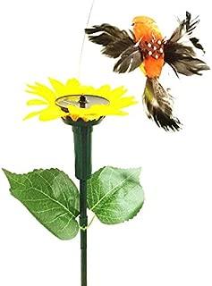 OutTop(TM) Solar Dancing Butterfly/Bird Fluttering Butterflies Hummingbird for Yard Decor Garden Decoration (Bird)