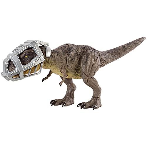 Jurassic World- Fuga Dirompente Dinosauro Tirannosauro, Giocattolo per Bambini 4+Anni, GYW84