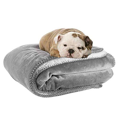 Vejaoo Hundedecke Wasserdicht, Hundedecke Grosse Hunde Bequemes und Warmes Waschbares Sofakissen XZ036 (150 * 127CM, Grey)