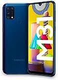 Samsung Galaxy M31 - Smartphone Dual SIM, Pantalla de 6.4' sAMOLED FHD+, Cámara 64 MP, 6 GB RAM, 64 GB ROM Ampliables, Batería 6000 mAh, Android, Versión Española, Color Azul