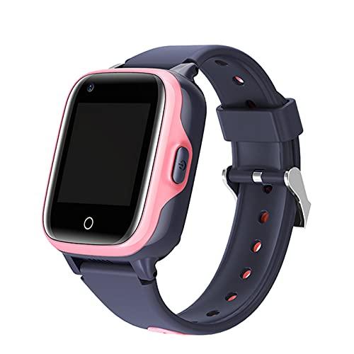 Ake Smart-Watches Bambini Android iOS 4G Sim-Card Regalo Video Chiamata Smartwatch Mini Telefono GPS Anti-Lost Tracker,A