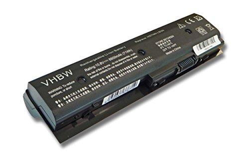 vhbw Batteria Li-Ion 6600mAh (11.1V) per Notebook Laptop HP Pavilion DV4-5000, DV4-5099, DV6-7000 Come 671567-421, HSTNN-LB3N, TPN-P102, TPN-W106.