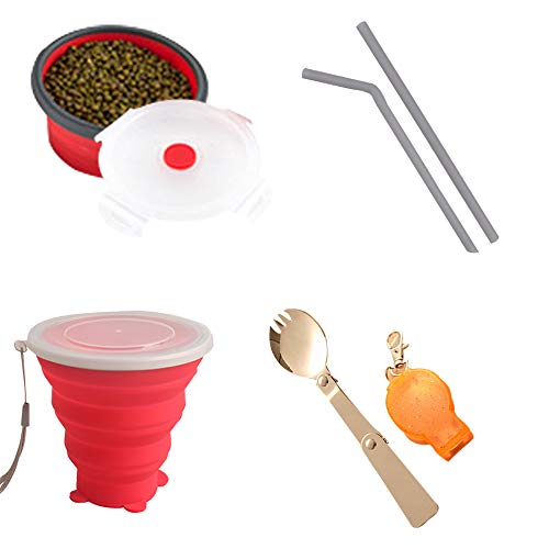 silicone collapsible cup and bowl