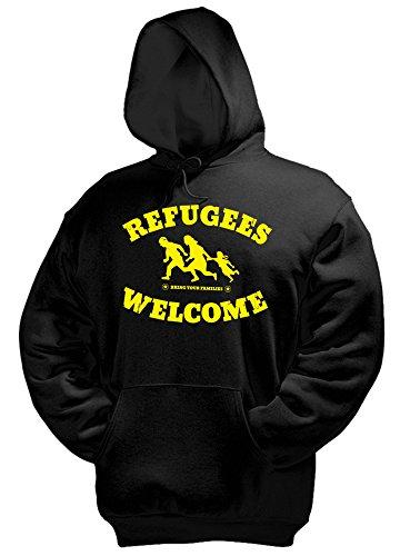 Racker-n-Roll Refugees Welcome Kapuzenpullover