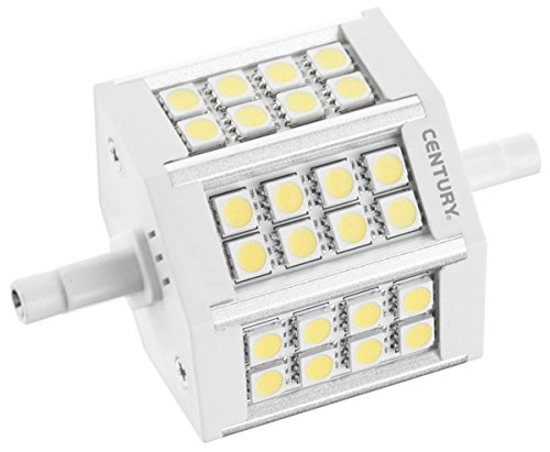 Eeuw Flat EXA 5 W R7S LED Lamp A + (Wit, A +, 50/60, 45 MA, 5 kWu, 51 mm)