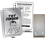 2 Pack Tot Finder Door Decals Help...