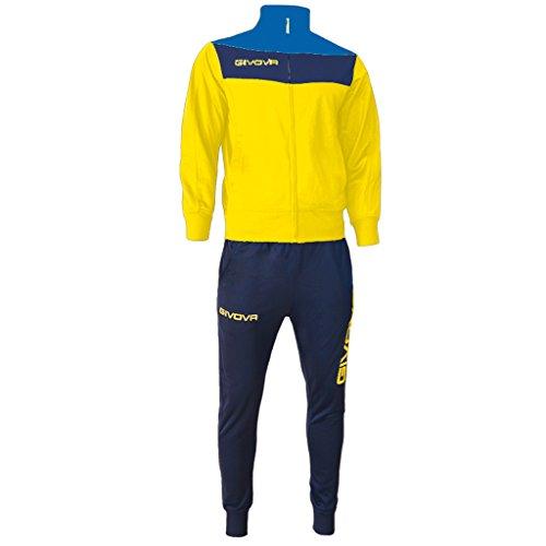 Givova, anzug spielfeld, gelb/blau, M