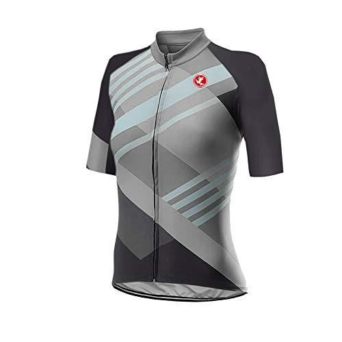UGLY FROG Mujer Conjunto Ropa Ciclismo Maillot Ciclista Mangas Cortas Camiseta MTB para Verano DXWH03