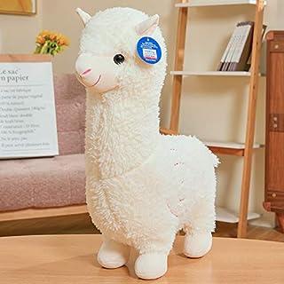 "18"" Alpaca Plush Toy, Llama Stuffed Animal Large Doll Plushie Hug Pillow Soft Fluffy Cushion Super Kawaii Gift for Birthda..."