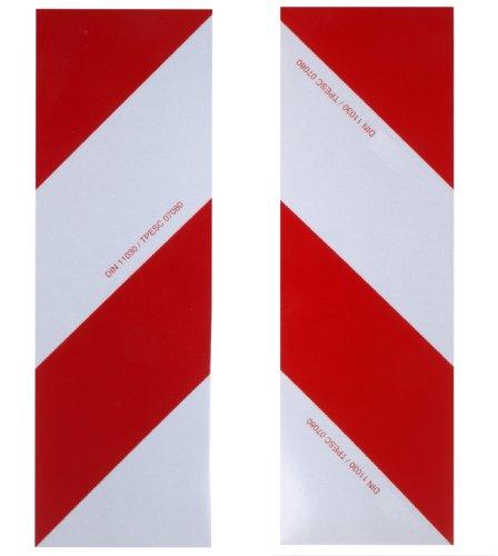 WAMO 2x Warnfolie 423 x 141 mm DIN11030 links und rechts